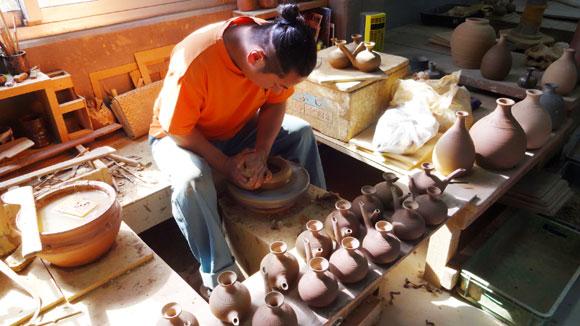 手作り南蛮甕