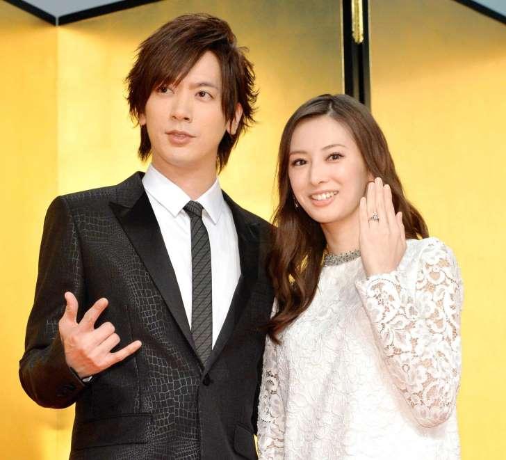 DAIGOさんと北川景子さんが1並び結婚(^_-)