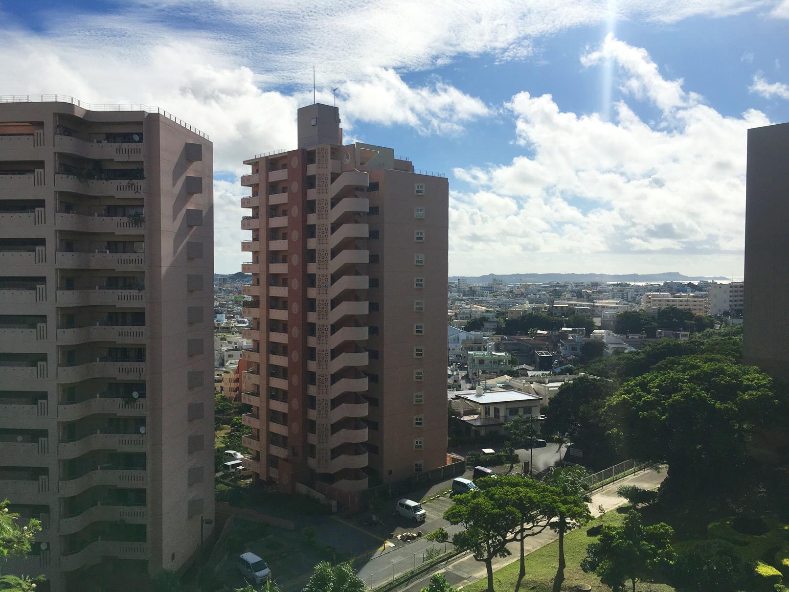 沖縄市役所からの風景③