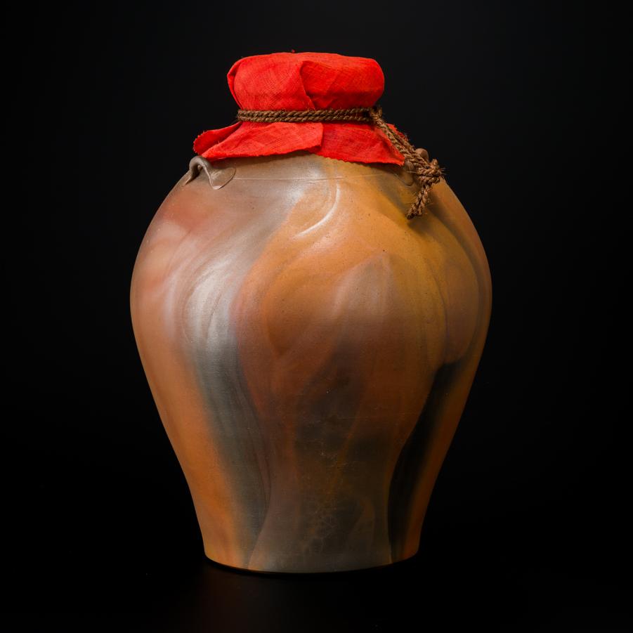 忠孝琉球城焼甕壺