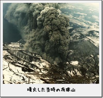 噴火の写真