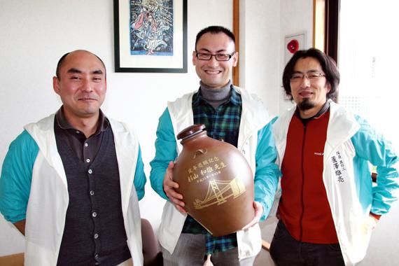 小野先生、八馬先生、蘆澤先生