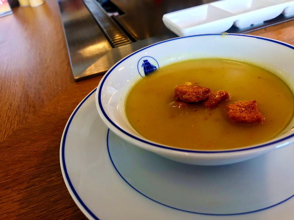 特製カレースープ