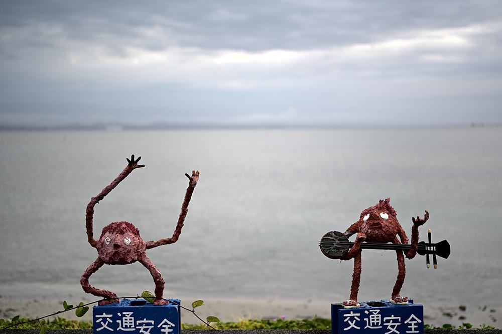 【画像】踊るシーサー