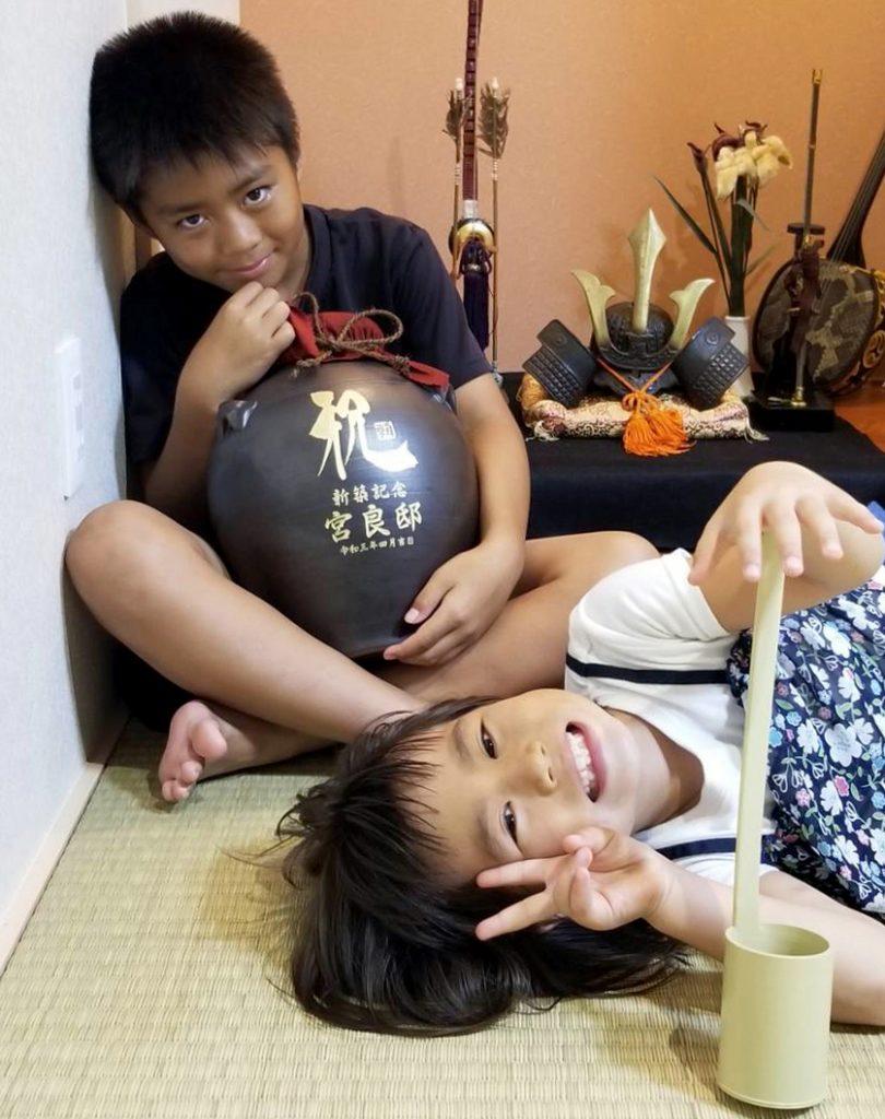【画像】新築祝いの壷入り泡盛