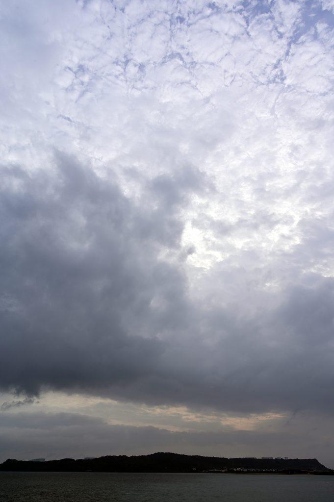 【画像】沖縄の朝空