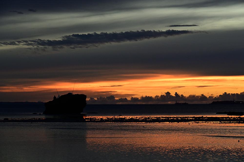 【画像】2021年8月18日の沖縄の朝焼け