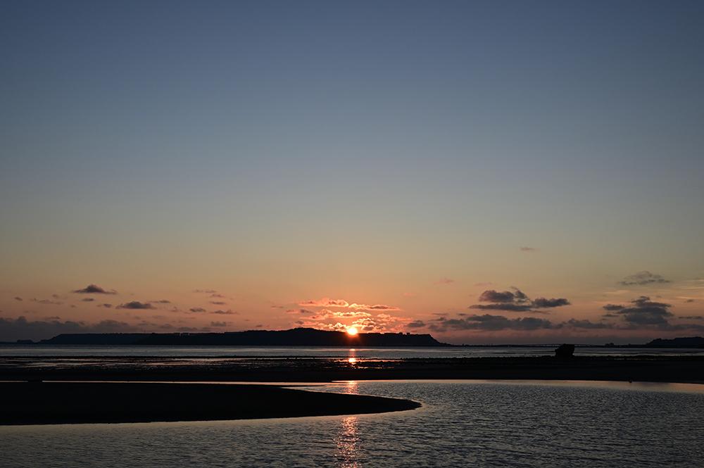 【画像】2021年8月30日の沖縄の朝日