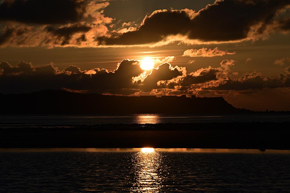 【画像】2021年8月31日の沖縄の朝日