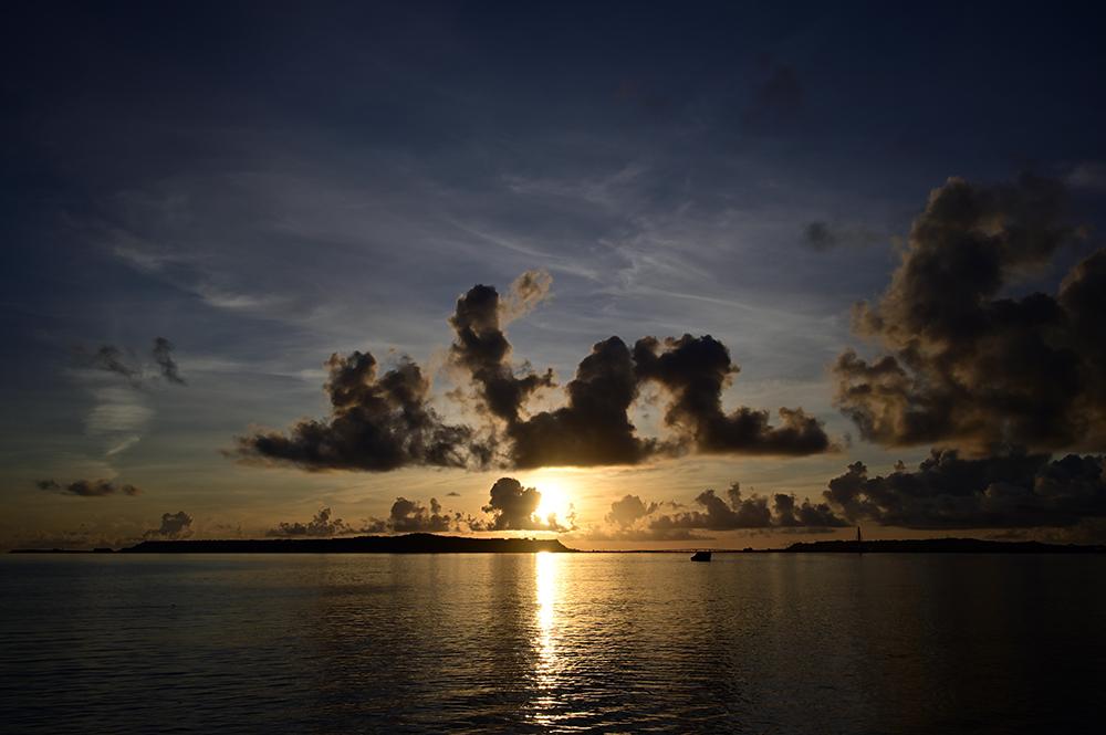 【画像】2021年9月7日の沖縄の朝日