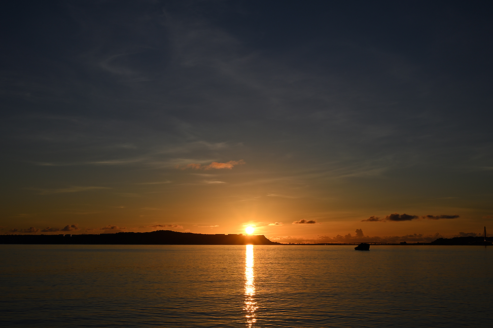【画像】2021年9月8日の沖縄の日の出