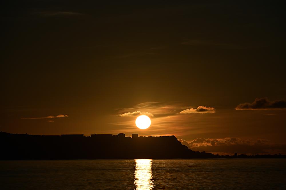 【画像】2021年9月8日の沖縄の朝日