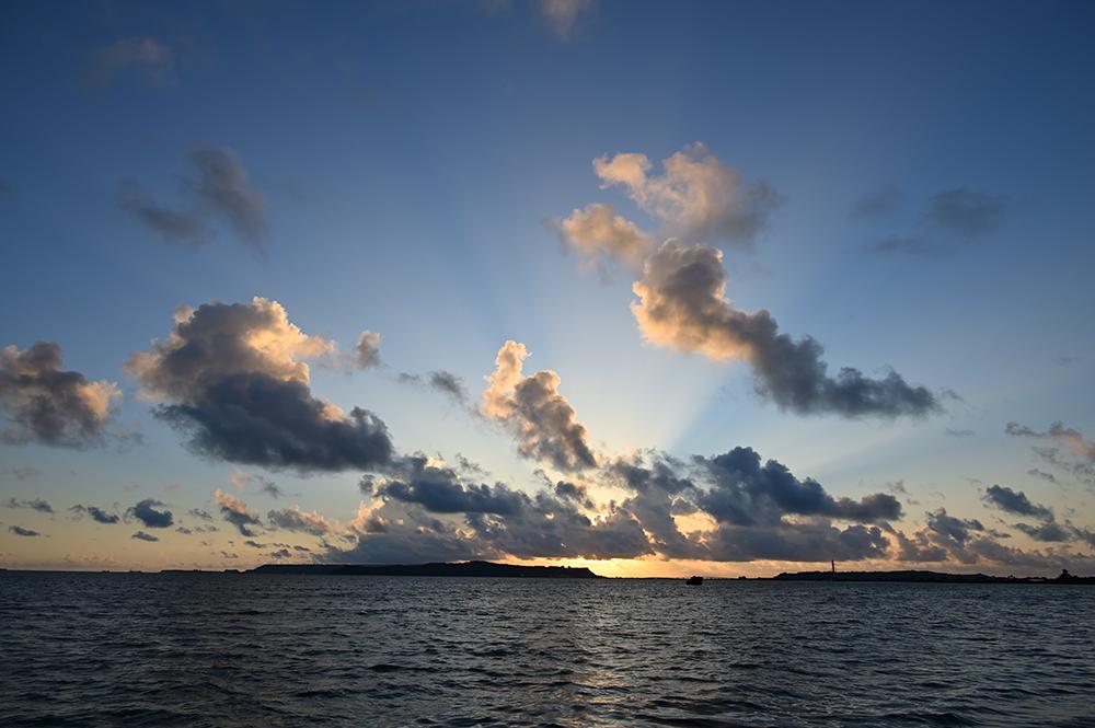 【画像】2021年9月10日の沖縄の朝日