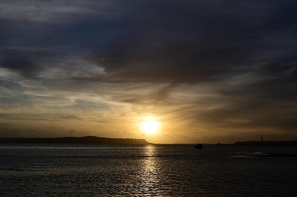 【画像】2021年9月11日の沖縄の朝日