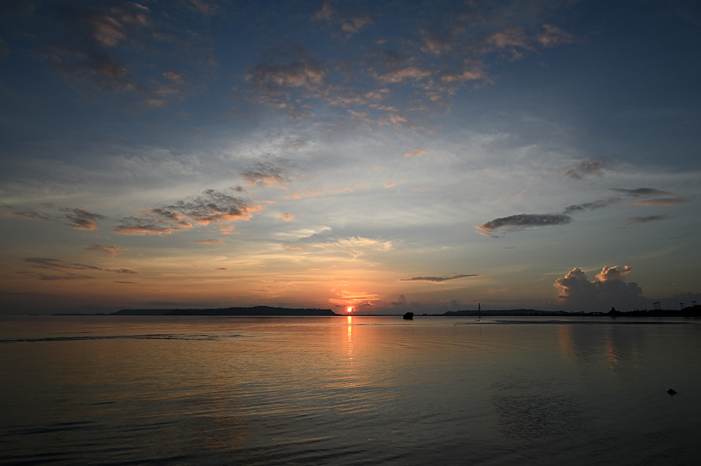 【画像】2021年9月17日の沖縄の日の出