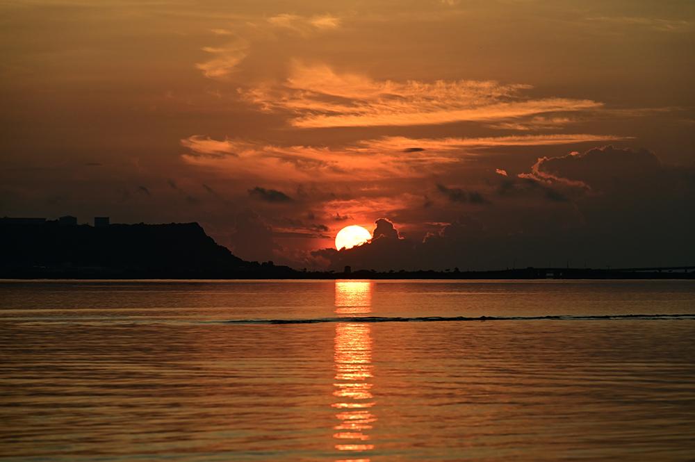 【画像】2021年9月17日の沖縄の朝日