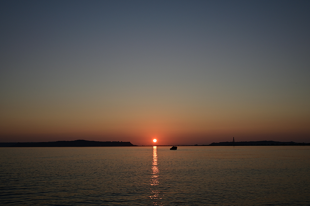 【画像】2021年9月21日の沖縄の朝日