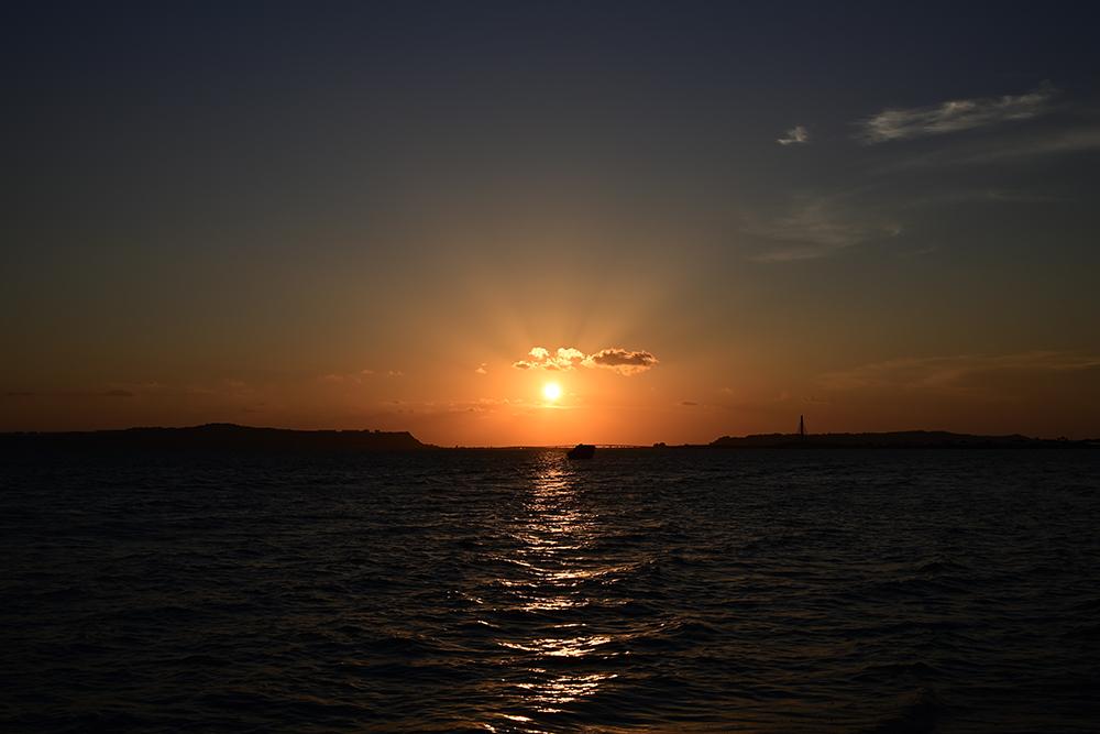 【画像】2021年9月24日の沖縄の朝日