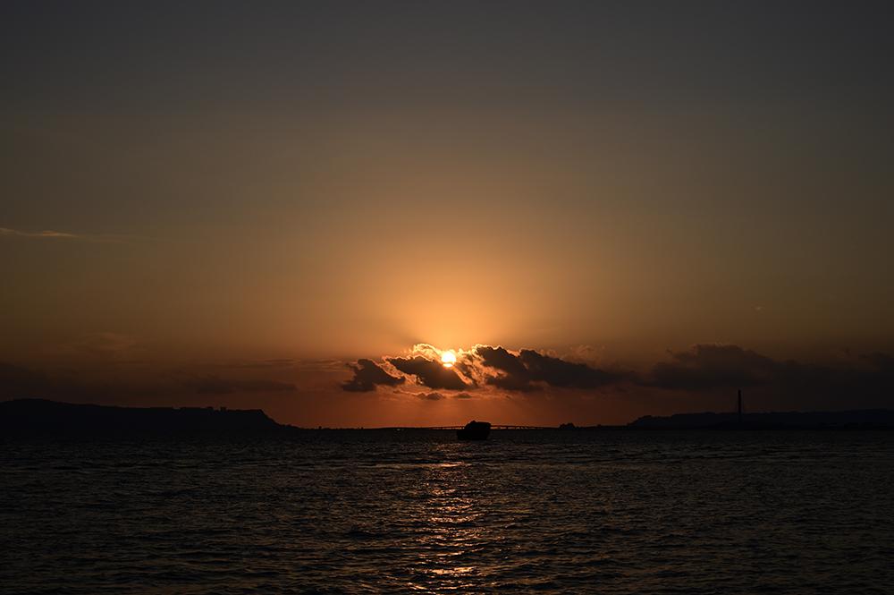 【画像】2021年9月25日の沖縄の日の出
