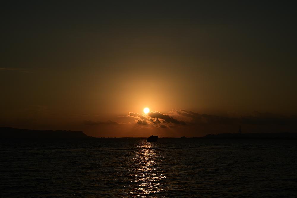 【画像】2021年9月25日の沖縄の朝日