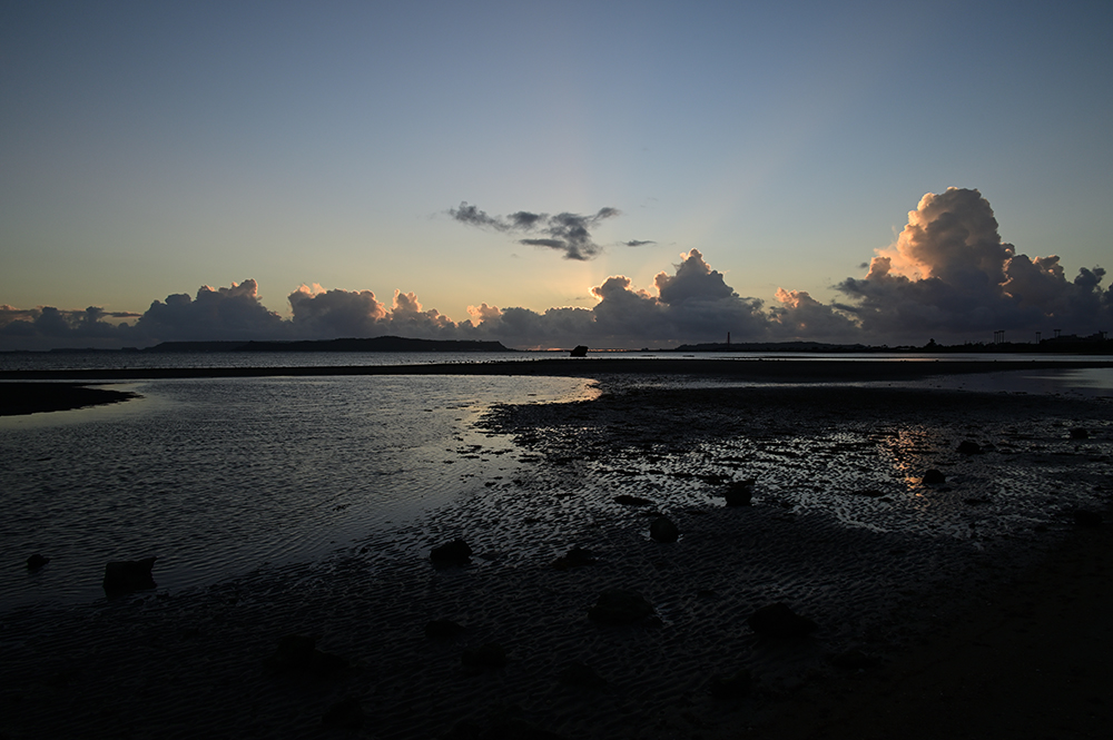【画像】2021年9月27日の沖縄の朝焼け