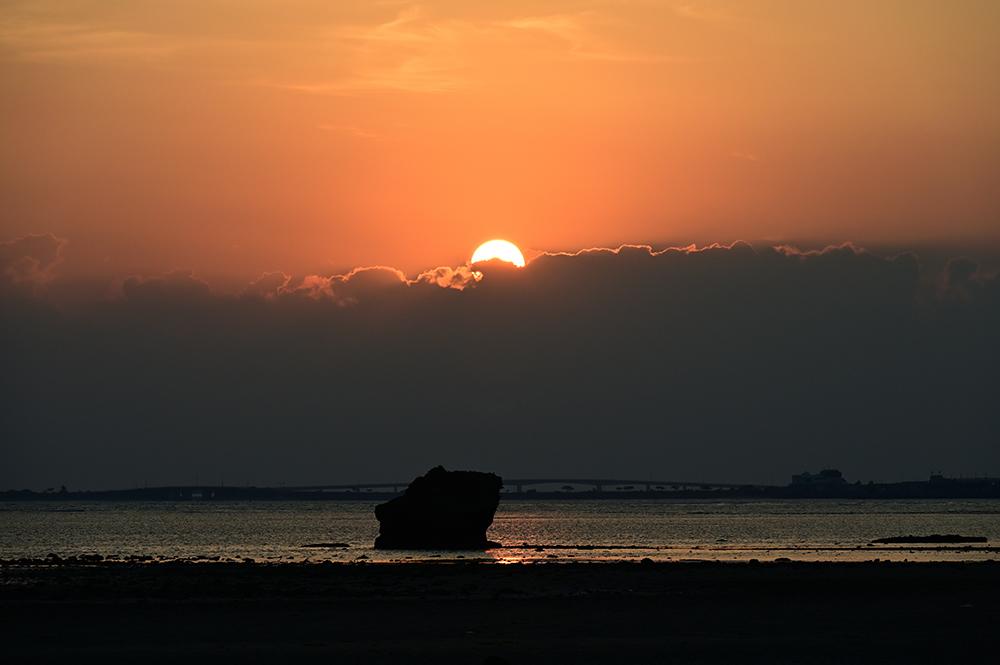 【画像】2021年9月28日の沖縄の朝焼け