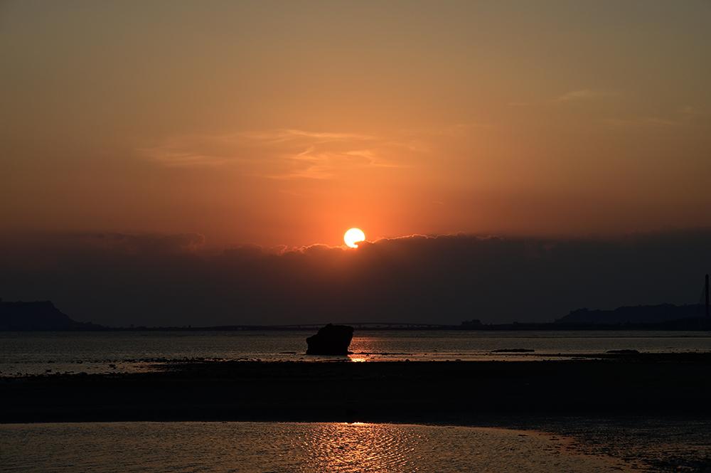【画像】2021年9月28日の沖縄の日の出