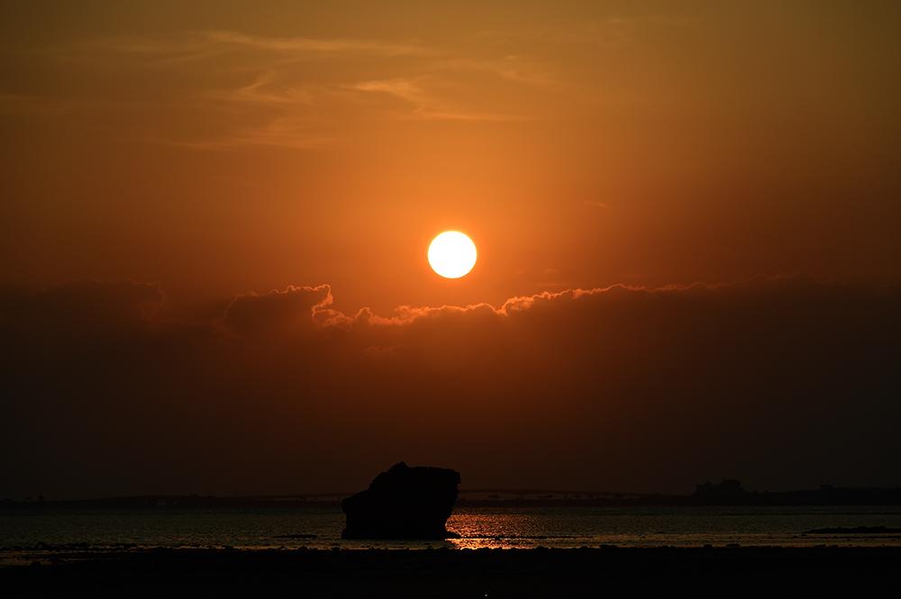 【画像】2021年9月28日の沖縄の朝日