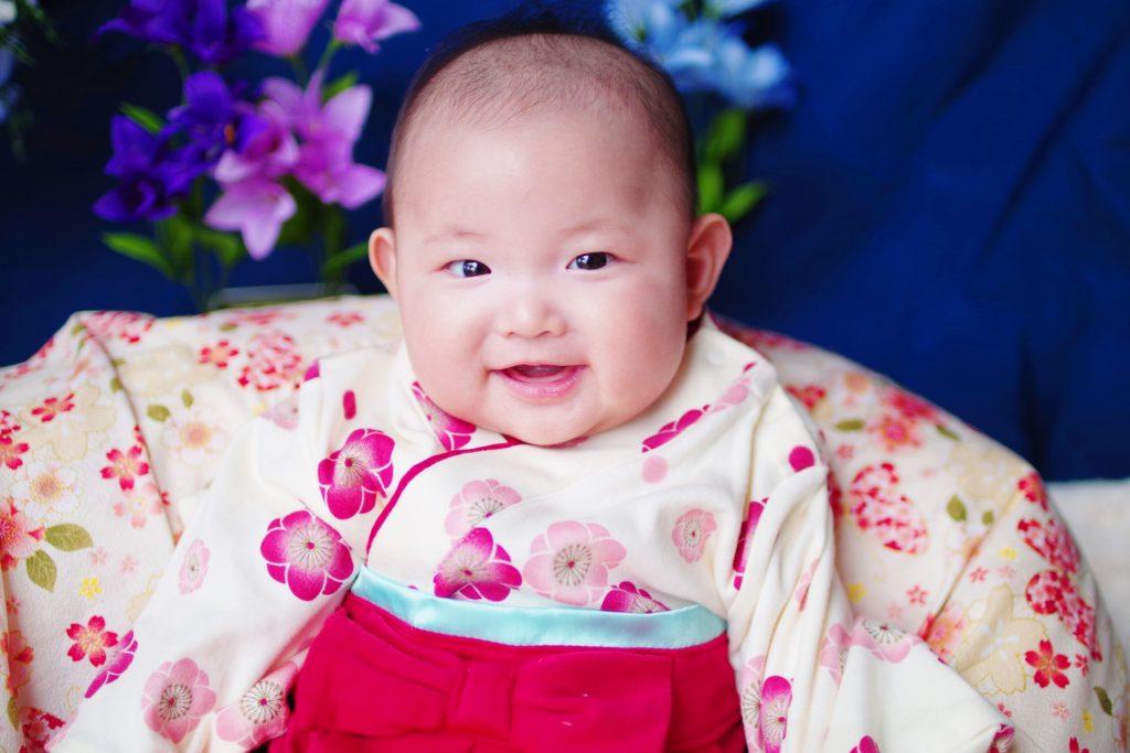 【画像】着物姿の赤ちゃん