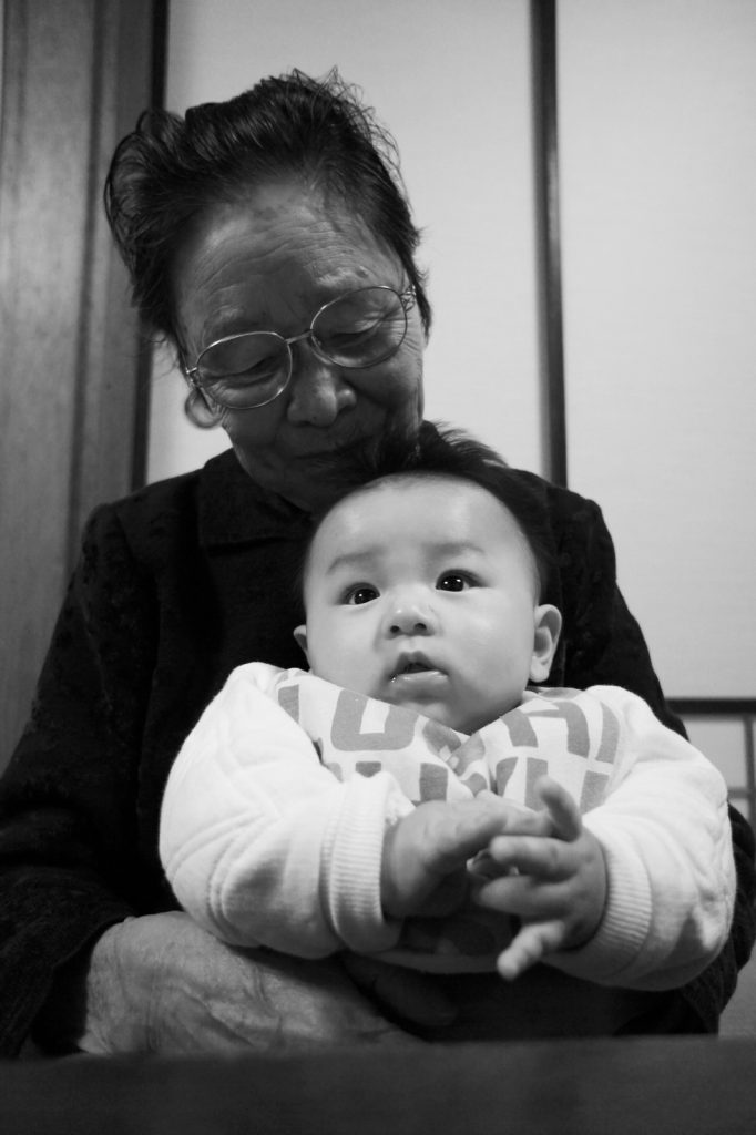 【画像】祖父と孫