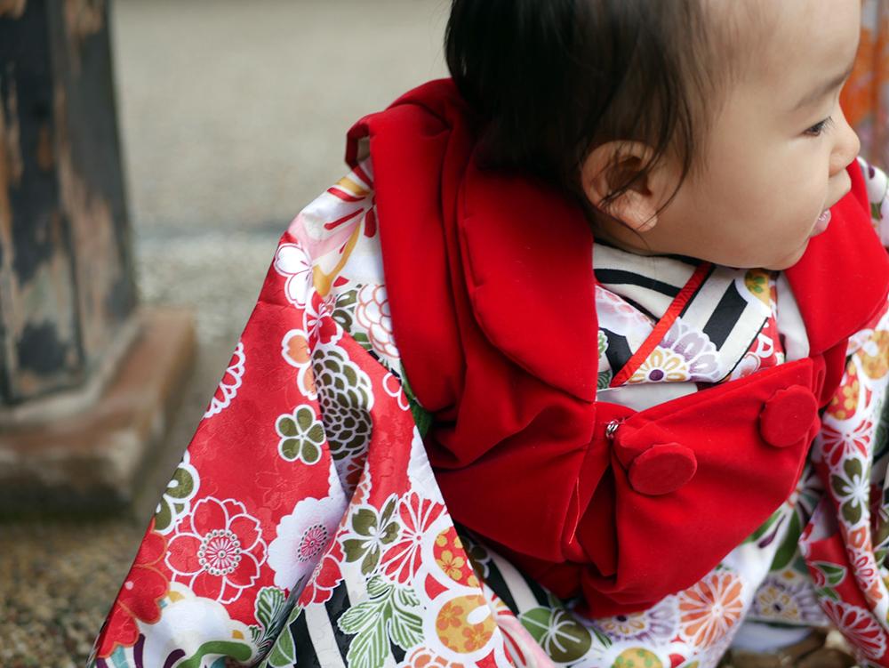 【画像】赤ちゃんのお祝い姿