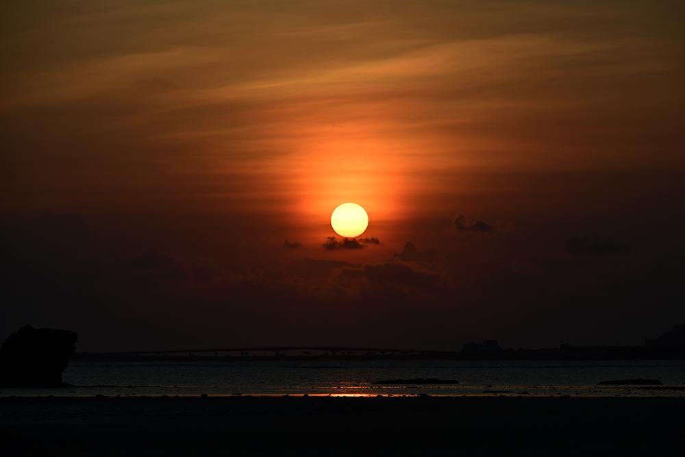 【画像】2021年10月1日の沖縄の日の出