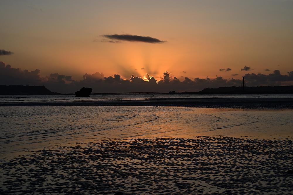 【画像】2021年10月2日の沖縄の日の出