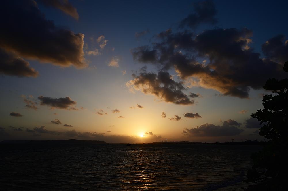 【画像】2021年10月4日の沖縄の朝日