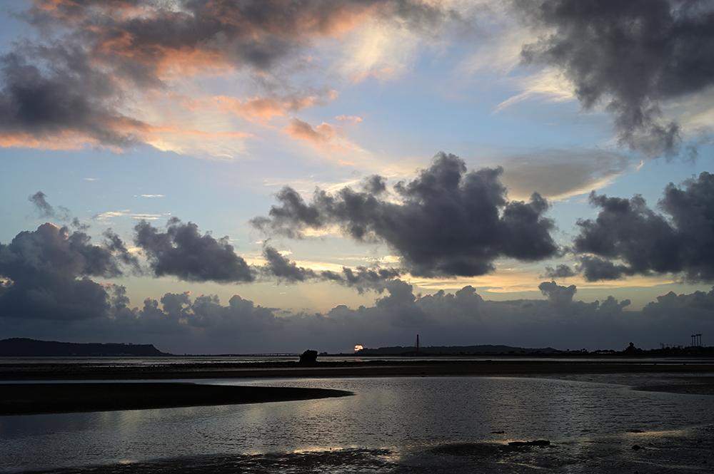 【画像】2021年10月14日の沖縄の日の出