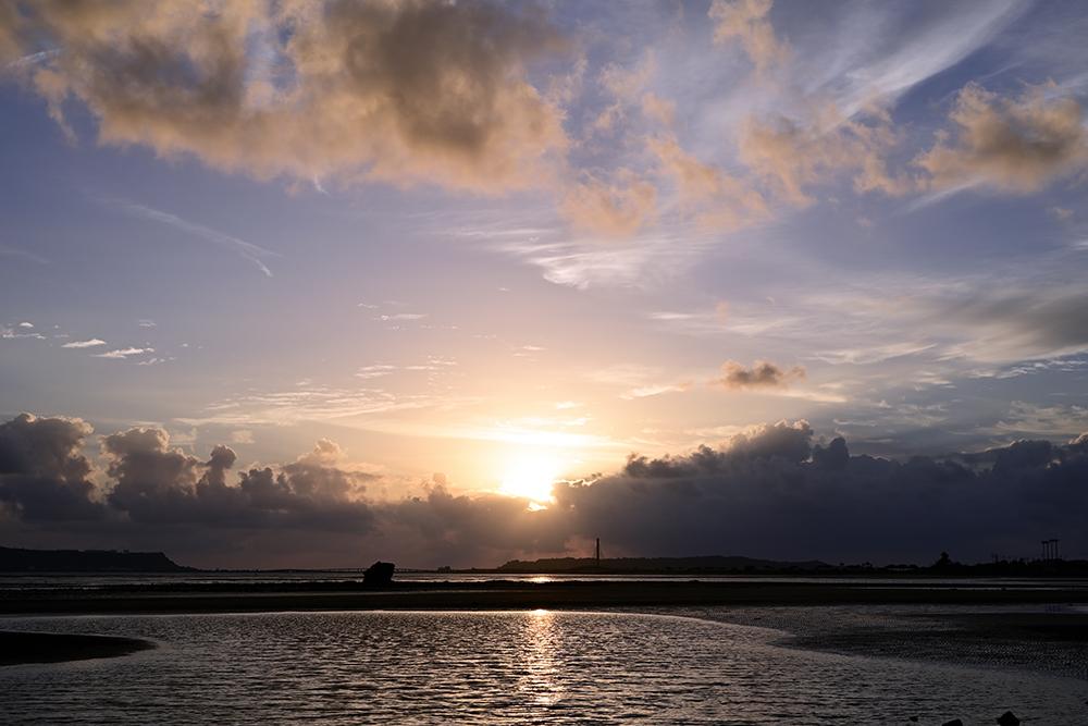 【画像】2021年10月14日の沖縄の朝日