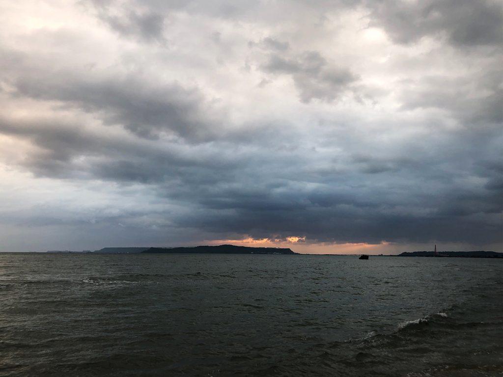 【画像】2021年10月21日の沖縄の朝空
